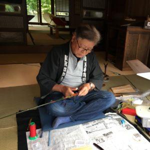 Vol.762  たてもの園で伝統工芸「和竿」の実演を見て来ました