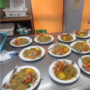 Vol.962 公民館緑分館の「国際交流イベント」で、バングラディシュの美味しいカレーを食べました