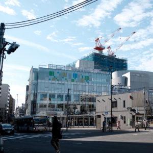 Vol.982 武蔵小金井駅南口から見る再開発現場(2018年12月撮影)
