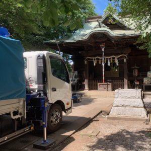 VOL.1189 小金井神社の工事が始まります