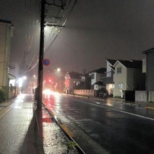 Vol.1268 【台風19号】【警戒レベル4】小金井市内の土砂災害警戒区域で避難勧告が発出されました