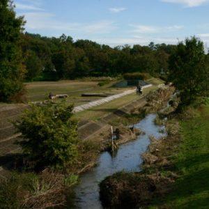 Vol.1299 野川と第一調整池・第二調整池